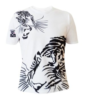 T-shirt col rond royal tiger homme