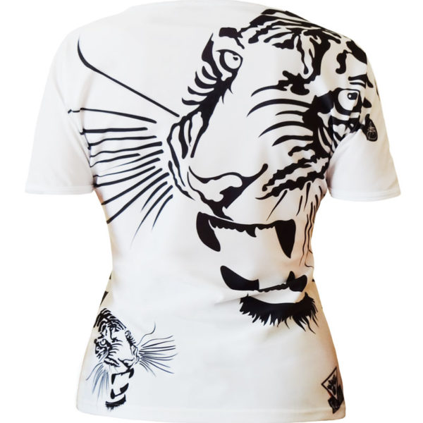 T-shirt femme all over Royal Tiger