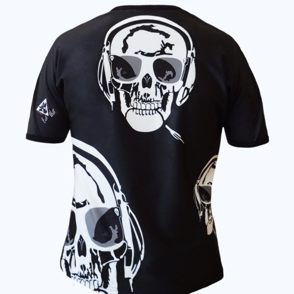 T-shirt homme all over Skull Music