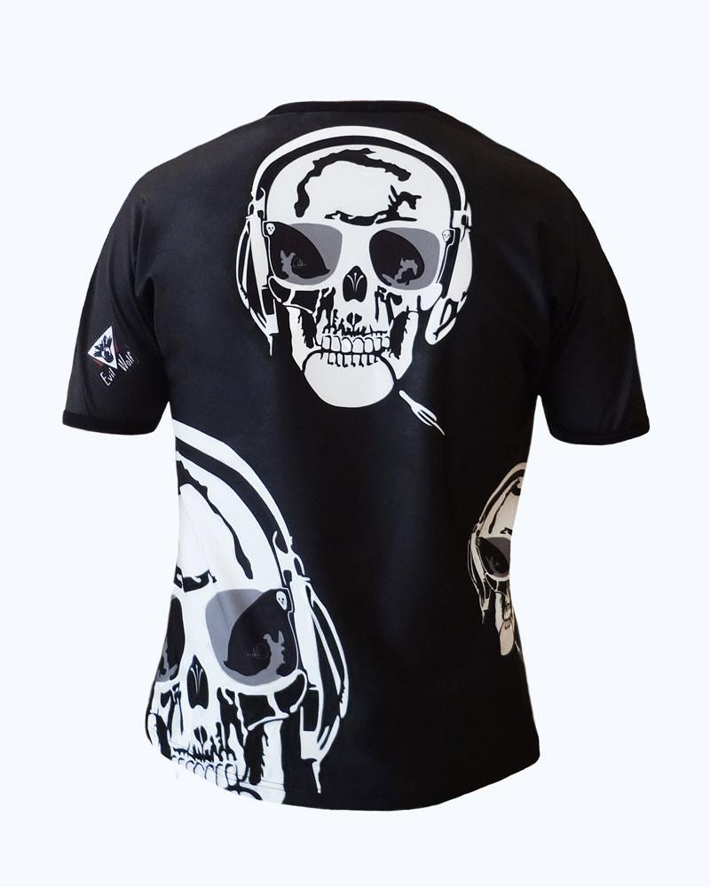 Art-T homme all over Skull Music Made in France MIF EXPO