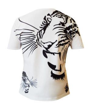 Collection T-shirts L'Exception T-shirt homme col rond all over Royal Tiger