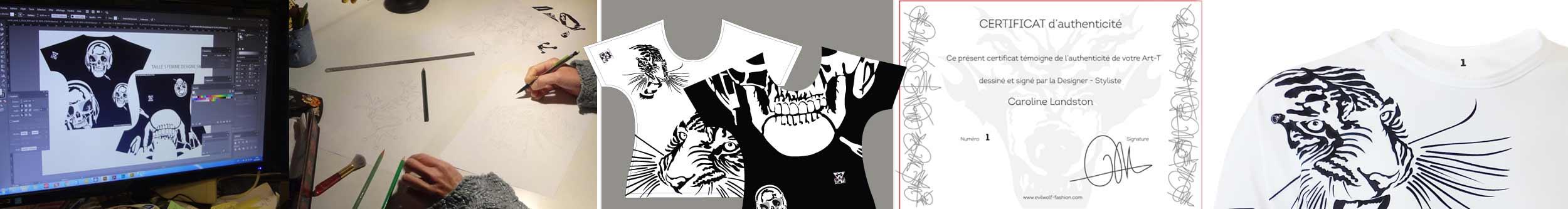 Le vêtement d'exception : le « ART-T », le t-shirt réinventé