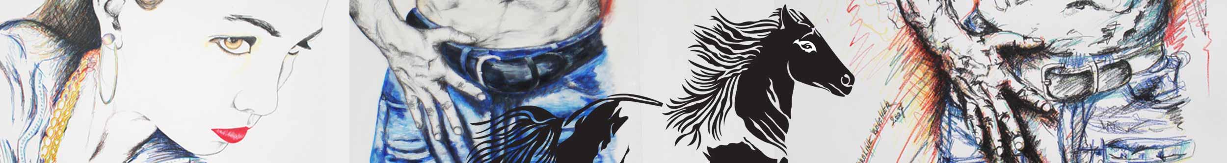 The designer stylist Caroline Landston Artist