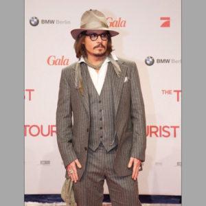 Johnny Depp en 3 pièces