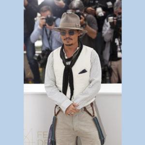 Johnny Depp en style Americana