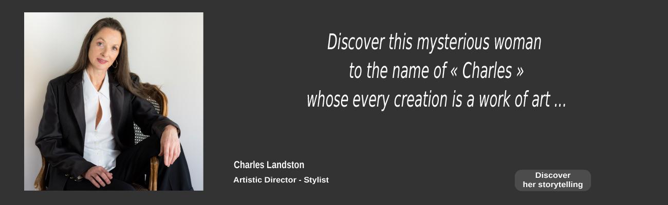 Charles Landston stylis artistic Director