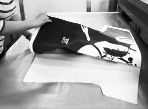Où et comment le Art-T est-il fabriqué ? En cité Phocéenne - Impression sur le tissu