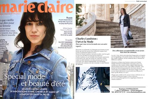 Marie claire Hauts de France. Juillet 2019