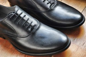 Morphologie Trapèze - Chaussures de ville en cuir noir