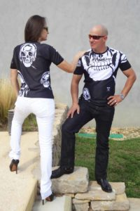 Charles Landston t-shirts are structured and endowed with a major and infinitive power of action
