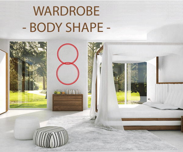 8 body shape or cello : How to choose your ideal wardrobe ? A complete guide