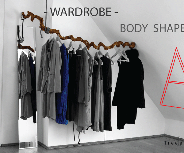 Spoon body shape or A : How to choose your ideal wardrobe ? A complete guide