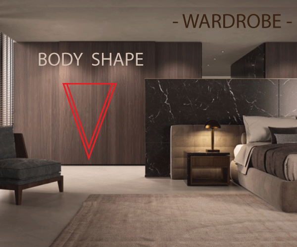 V body shape or cone : How to choose your ideal wardrobe ? A complete guide