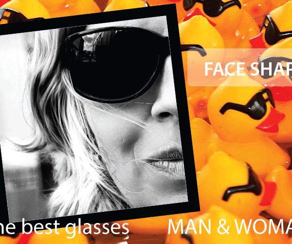 Face shape - The best glasses for man and woman and children - How to choose the right eyeglasses or sunglasses for men and women ?